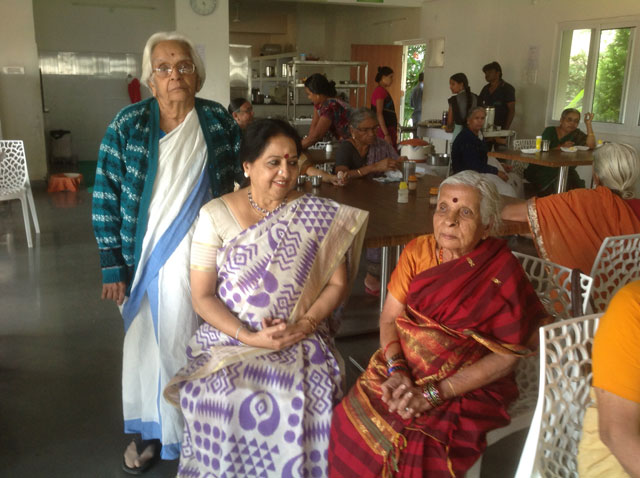 70th  Birth Day Celebration of Smt. Sreedevi Unni, Mohiniattam Dancer and teacher in presence of SMILES residents