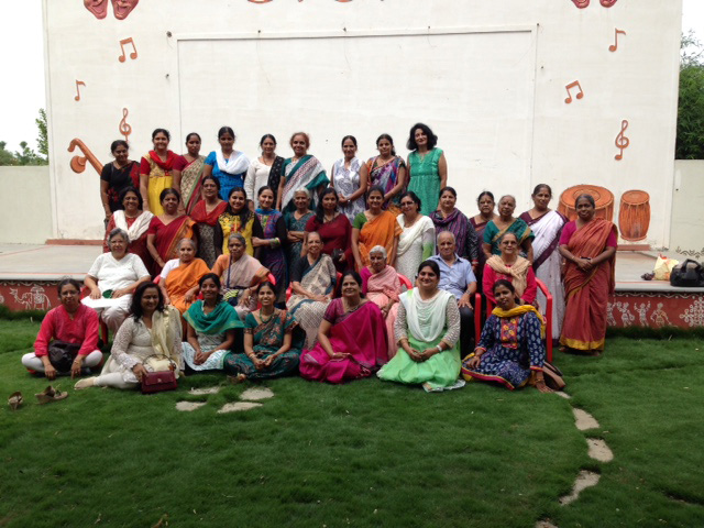 The Art of Living Women's Club members visit to SMILES
