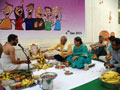 Sree Satyanarayana Swami Vratam on the eve of 4th Anniversary of smiles
