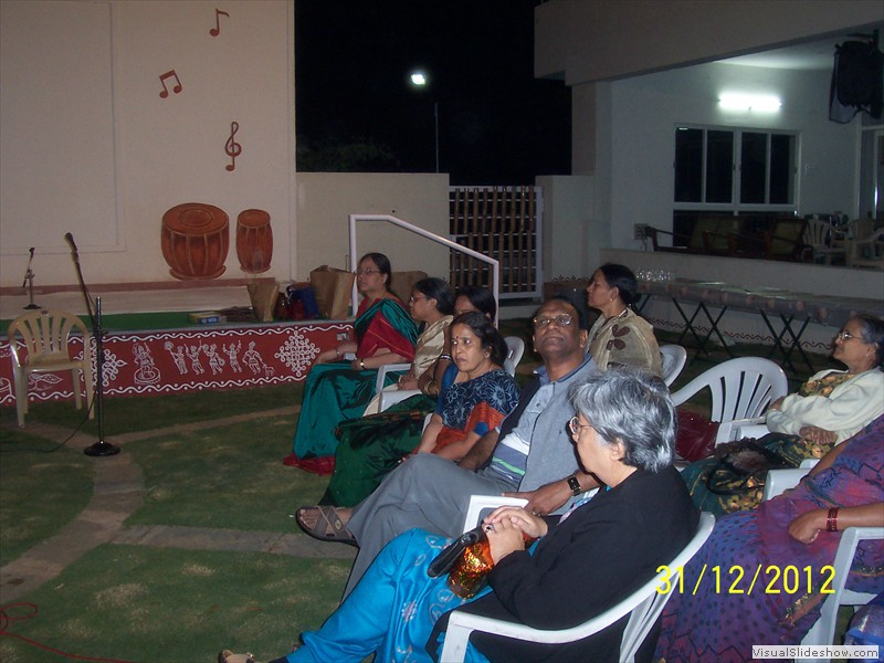 Welcoming all for new year bash at smiles old age home in hyderabad (4)